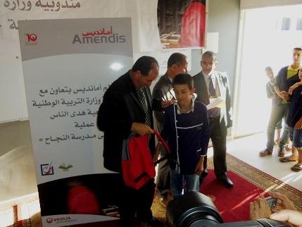 عبد الإله الفيزازي رئيس مصلحة الحياة المدرسية بنيابة طنجة أصيلة